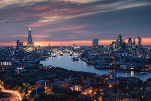 Beautiful London City View 8k Wallpaper