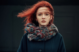 Beautiful Portrait Red Head 4k Wallpaper