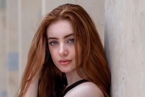 Beautiful Redhead Girl 4k Wallpaper