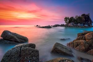 Beautiful Sea Coast