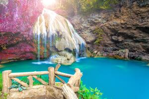 Beautiful Waterfall In Thailand Wallpaper