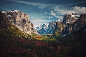 Beautiful Yosemite 8k