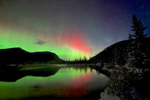 Beauty Of Sky Aurora Bliss Wallpaper