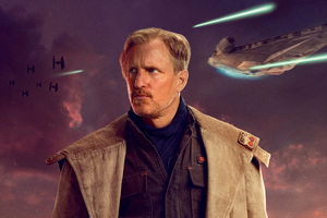 Beckett In Solo A Star Wars Story Movie 5k Wallpaper