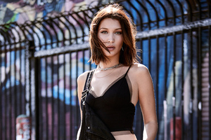 Bella Hadid Penshoppe 2019 4k Wallpaper