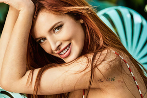 Bella Thorne Shape Magazine 2020 Wallpaper