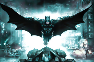 Ben Affleck Batman 4k Wallpaper