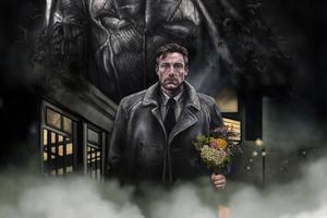 Ben Affleck Batman Artwork Wallpaper