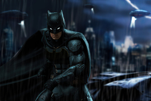 Ben Affleck Batman Fan Art 4k