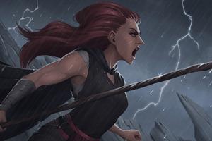 Beneath The Storm 8k Wallpaper