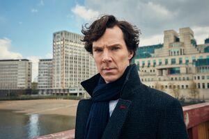 Benedict Cumberbatch Sherlock 8k