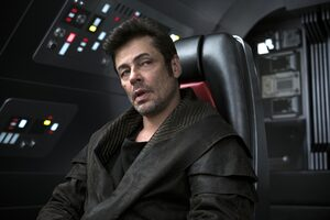 Benicio Del Toro In Star Wars The Last Jedi 2017