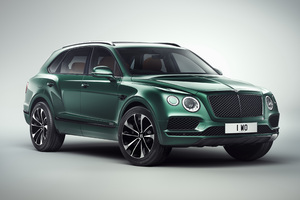 Bentley Bentayga 2018 Wallpaper