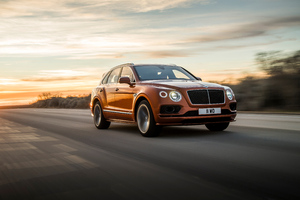 Bentley Bentayga 2019 Wallpaper