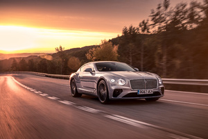 Bentley Continental GT 2018 4k