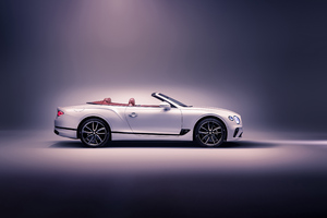Bentley Continental GT Convertible 2019 Side View