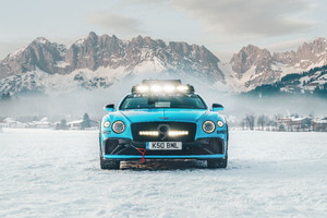 Bentley Continental Gt Ice 2020 8k
