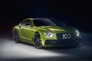 Bentley Continental GT Limited Edition Pikes Peak 8k Wallpaper