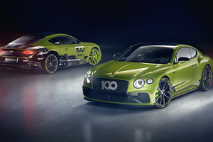 Bentley Continental GT Limited Edition Pikes Peak Wallpaper