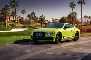 Bentley Continental GT Pikes Peak 2021 5k Wallpaper