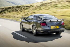 Bentley Continental GT Supersport Rear