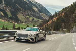 Bentley Continental GT White Sand