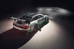 Bentley Continental GT3 2018 Rear Wallpaper