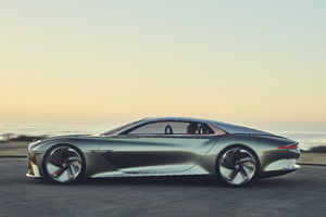 Bentley EXP 100 GT 2019 Side View 5k Wallpaper