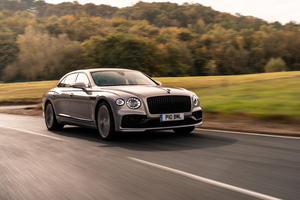 Bentley Flying Spur Blackline Front 2020 Wallpaper