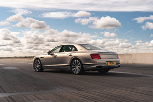 Bentley Flying Spur Blackline Rear 5k Wallpaper