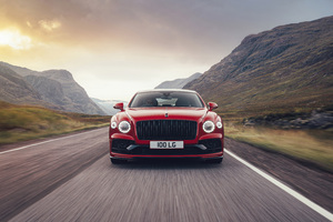 Bentley Flying Spur V8 Wallpaper