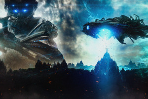 Beyond Skyline 2017 Movie 5k