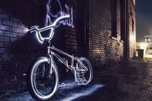 Bicycle Neon 5k Wallpaper