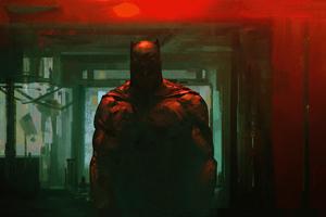 Big Batman Red 4k
