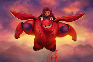 Big Hero 6 4k Wallpaper