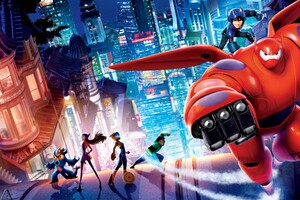 Big Hero 6 Movie HD Wallpaper