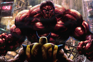 Big Trouble With Red Hulk