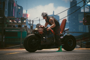 Biker Boy Cyberpunk 2077 4k Wallpaper