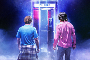 Bill And Ted Face The Music 2020 Movie Wallpaper