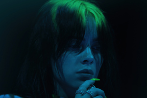 Billie Eilish The Worlds A Little Blurry 4k Wallpaper
