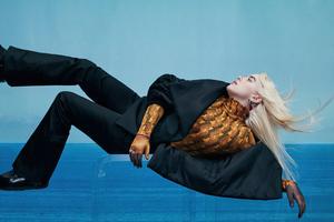 Billie Eilish Vogue Australia 4k Wallpaper