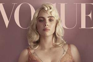Billie Eilish Vogue UK Wallpaper