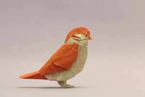 Bird Origami Wallpaper