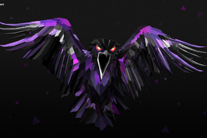 Bird Polygon Digital Art