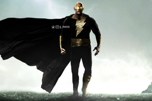 Black Adam 2020 4k Wallpaper