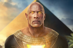 Black Adam 2020 Artwork Wallpaper