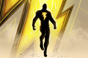 Black Adam 2020 New Artwork Wallpaper