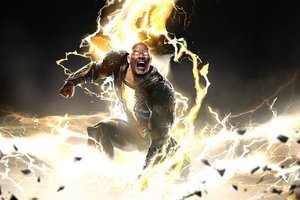 Black Adam 2021 Movie 4k Wallpaper