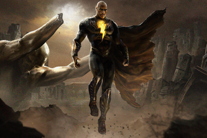 Black Adam 4k 2021 Movie Wallpaper