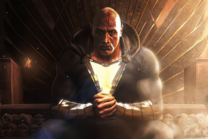 Black Adam 4k Art 2020